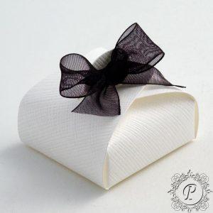 White Astuccio Wedding Favour Box