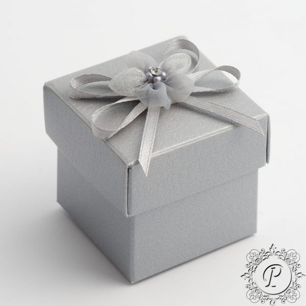 Silver Pelle Cube Corpercio