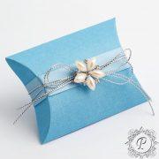 Blue Pillow Bustina