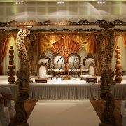Front View of Diya Mandap