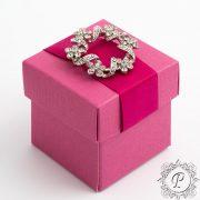 Fuchsia Cube Corperchio