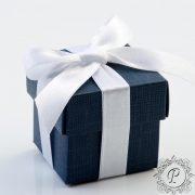 Navy Blue Cube Corperchio
