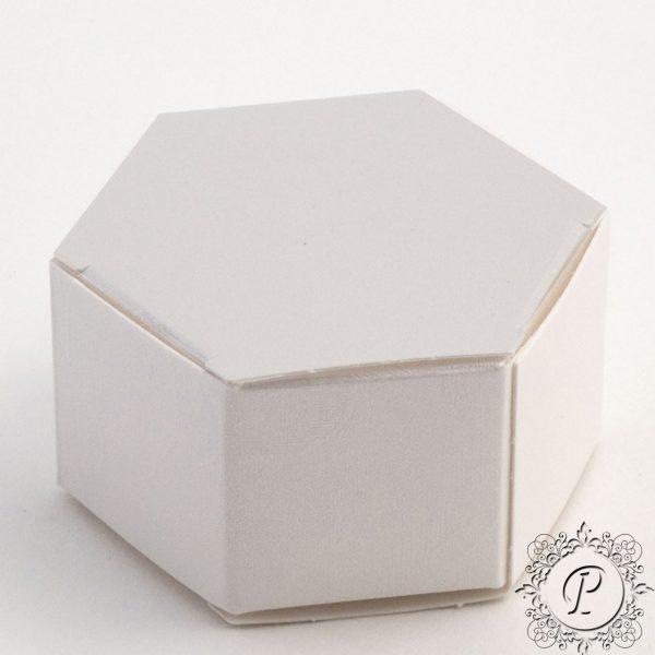 Pearla Hex Astuccio Weddiing Favour Box