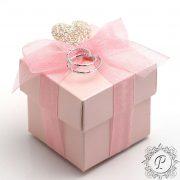 Pink Satin Cube Corpercio