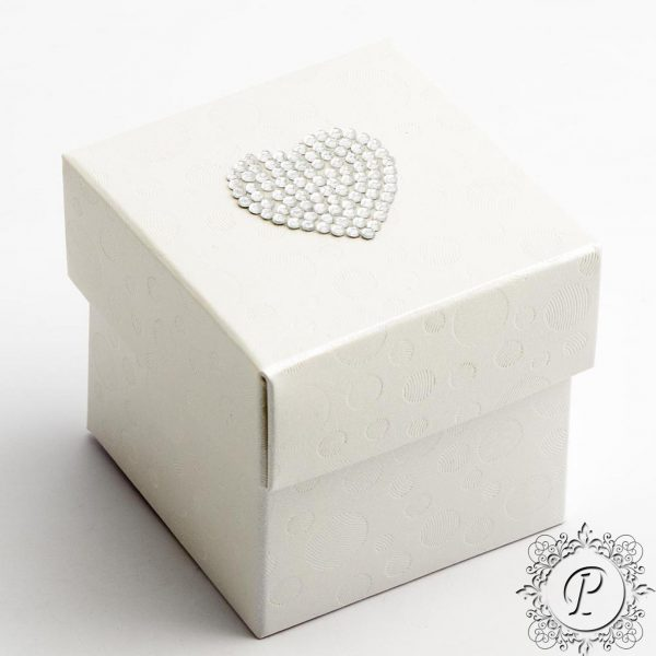 Sphere Pearla Cube Corpercio Wedding Favour box