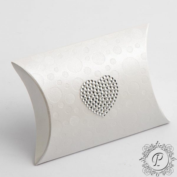 Sphere Pearla Pillow Bustina Wedding Favour Box
