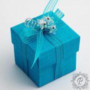 Turquoise Cube Corperchio