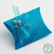 Turquoise Pillow Bustina