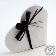 White Gloss Heart